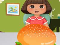 Dora Mcdonalds Hamburger