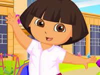 Dora Schoolday Dressup