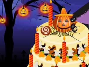 Halloween Cake Decor