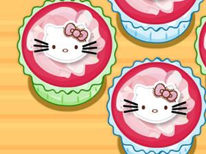 Hello Kitty Apples and Banana Cupcakes