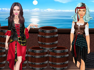 Jenner's Pirate Fashion