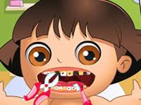 Baby Dora Tooth Problems