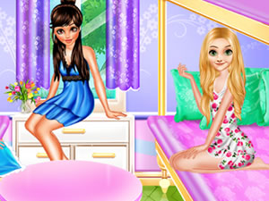 Princess Pajama Party Sleepover