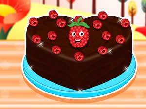Raspberry Chocolate Cakes