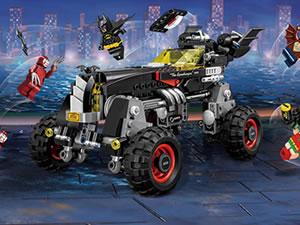 Batman Lego Car Keys