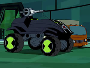 Ben 10 Car: Hidden Stars