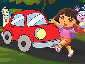 Dora Hidden Car Keys