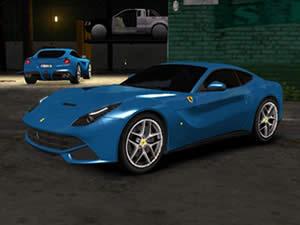 Ferrari Cars Hidden Letters