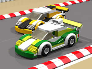 Lego Car Hidden Tires