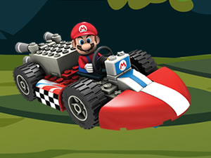 Mario Cars Hidden Letters
