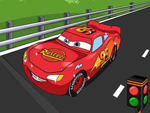 McQueen Cars Hidden Stars