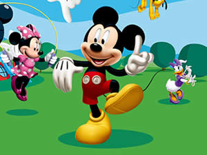 Mickey Mouse Hidden Letters