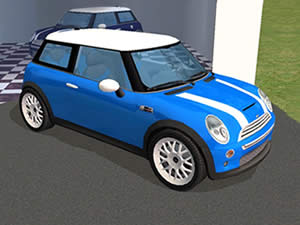 Mini Cars Hidden Letters