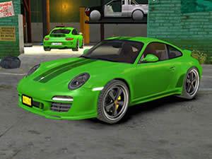 Porsche Cars Hidden Letters