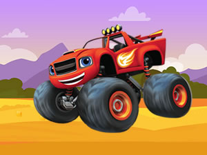 Blaze Monster Machines Hidden Keys