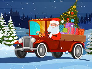 Christmas Vehicles Hidden Tires