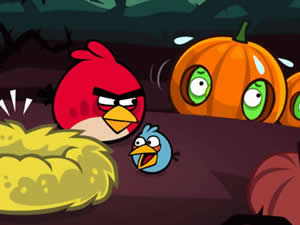 Angry Birds Halloween Puzzle