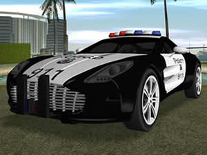 Aston Martin Police Puzzle