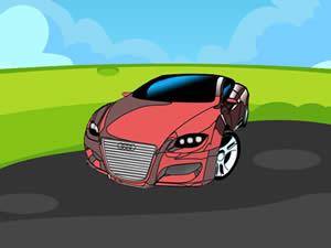 Audi Cartoon Puzzle