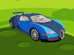 Bugatti Cartoon