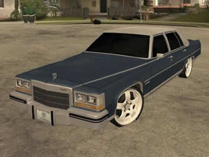Cadillac Fleetwood Brougham Puzzle