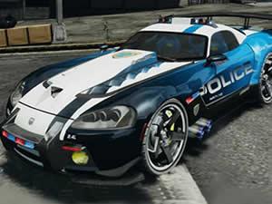 Dodge Viper Police Puzzle