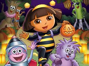 Dora Halloween Puzzle