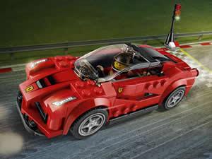 Ferrari Lego Car Puzzle
