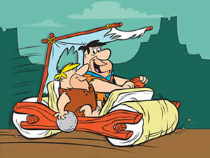 Flintstones Car Puzzle