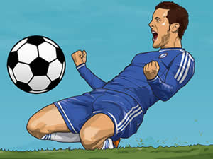 Hazard Soccer Puzzle