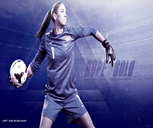 Hope Solo Soccer Puzzle