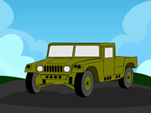 Hummer Cartoon Puzzle