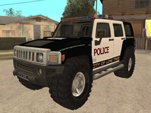Hummer Police Puzzle