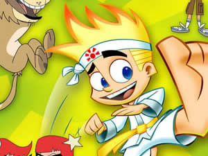 Johnny Test Jigsaw