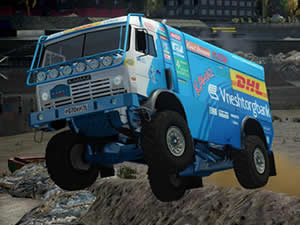 Kamaz Truck Puzzle