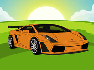 Lamborghini Gallardo Cartoon