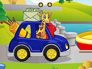 Lego Car Zoo Animals