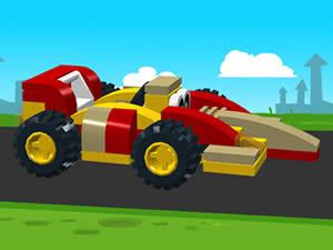 Lego F1 Racecar Puzzle