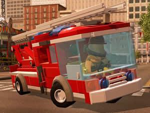 Lego Firetruck Puzzle