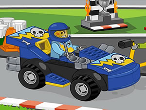 Lego Racing Car Puzzle