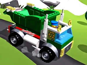 Lego Recycle Truck Puzzle