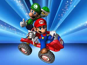 Mario and Luigi Driving