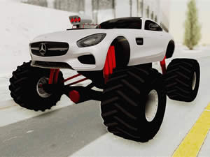Mercedes AMG Monster Truck