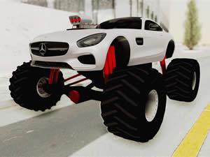 Mercedes AMG Monster Truck