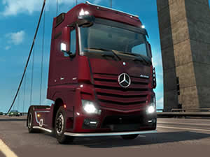 Mercedes Truck Puzzle
