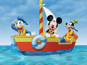 Mickey Boat Puzzle