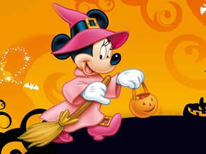 Minnie Halloween Puzzle