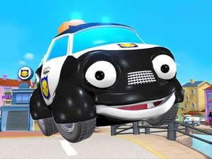 Paulie Police Car Puzzle