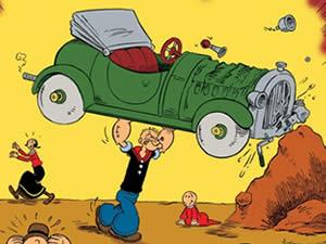 Popeye Car Puzzle