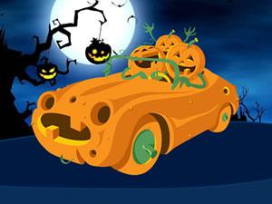 Pumpkin Car Puzzle